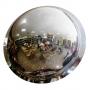 Купольное зеркало на потолок 800х360